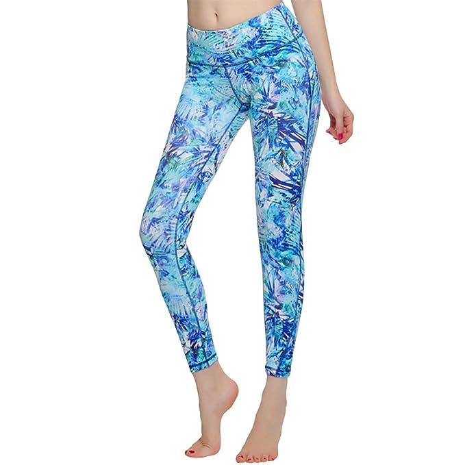 Amazon.com: Para mujer pantalones de yoga, correr Leggings ...