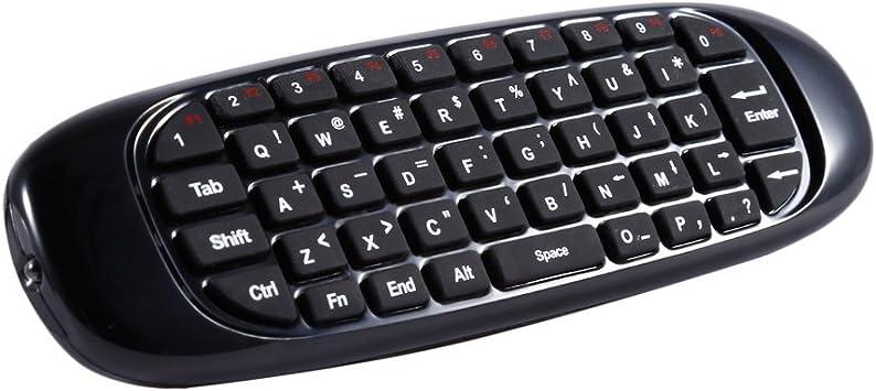 leshp mando a distancia Mini teclado y Air Mouse y mando a ...