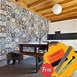 Walplus Entfernbarer Selbstklebend Wandkunst Aufkleber Vinyl Wohndeko DIY  Wohnzimmer Schlafzimmer Küche Dekor Tapete Englisch Spruch Vintage