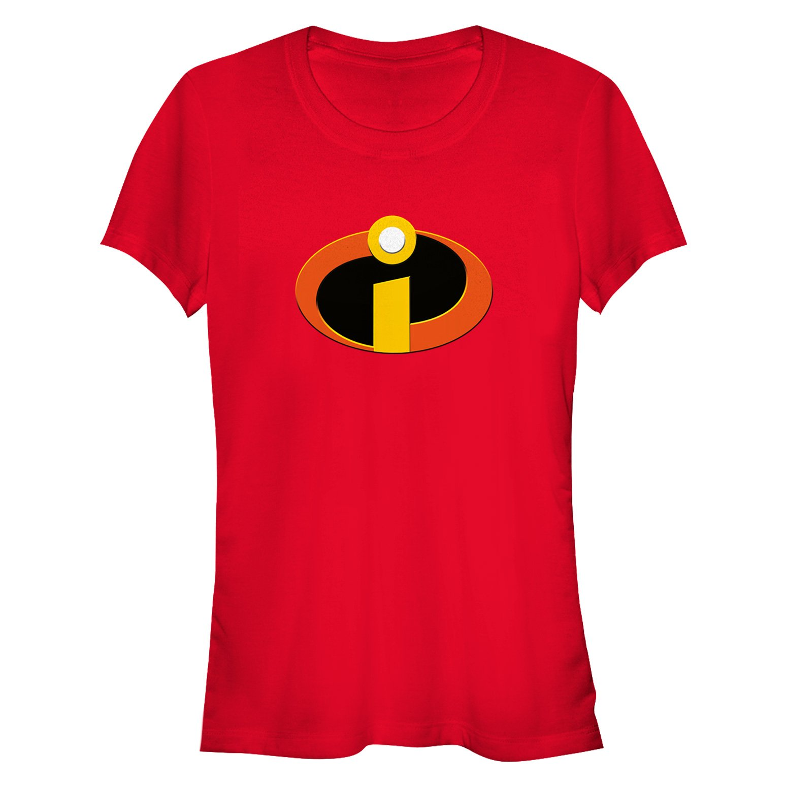 Disney Women's The Incredibles Logo Graphic T-Shirt, Red, M