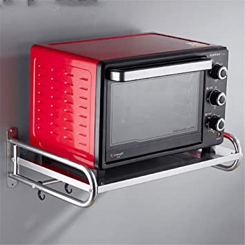 ZXXxxZ Soporte de microondas de Acero Inoxidable Cocina ...