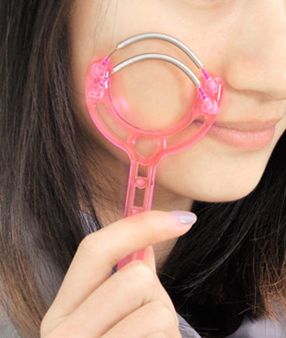 4 diversos pedazos Kit del removedor del pelo facial Epilators Stick Threading Herramientas de la belleza Accesorios suministrados por KFZR (4 PCS): ...