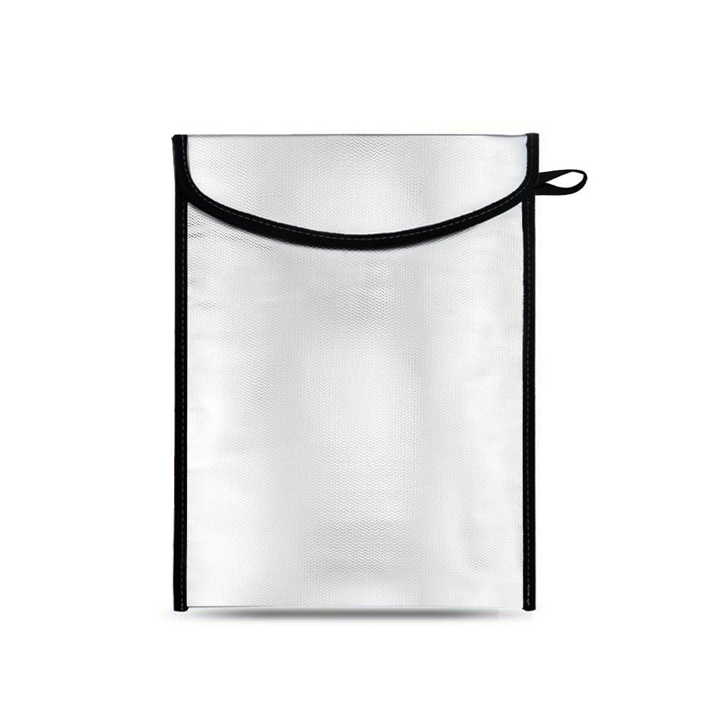 13/'/' x 10/'/' 13 x 10 Valuables Three Stone Fireproof Bag Fire Resistant Document Bag,NON-ITCHY Fiberglass Fire Safe Money Bag,Fireproof Waterproof Safe pouch Envelope Storage for Document,iPad,Birth Certificate,Passport,Valuables
