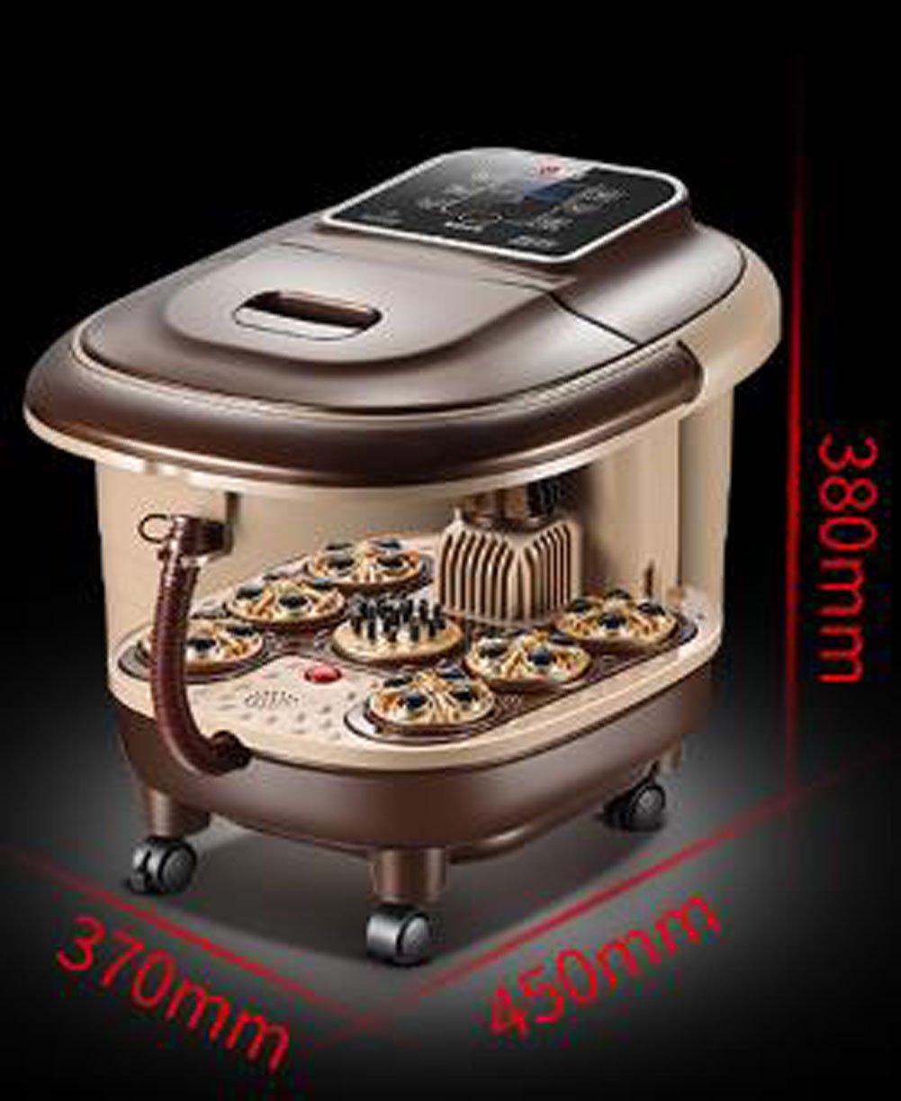 フットマッサージャースパ暖房電気式赤外線マッサージャーフィートフットスパスージング70x45x38cm B07H5G67BB