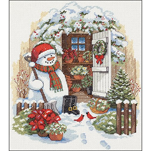 Garden Counted Cross Stitch - 2
