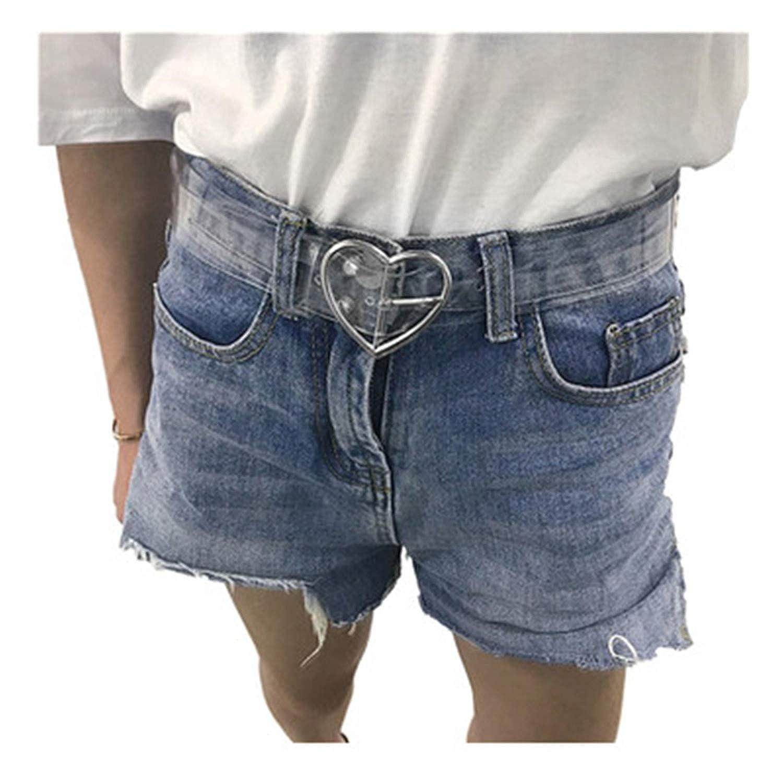 Belt Waist New Waistband Women Transparent Resin Long Adjustable