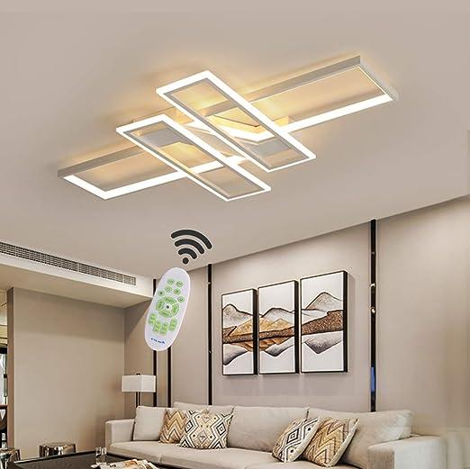 Plafoniera Design Moderno Camera Da Letto.80w Led Lampada Da Soffitto Moderna Stile Telecomando Dimmer