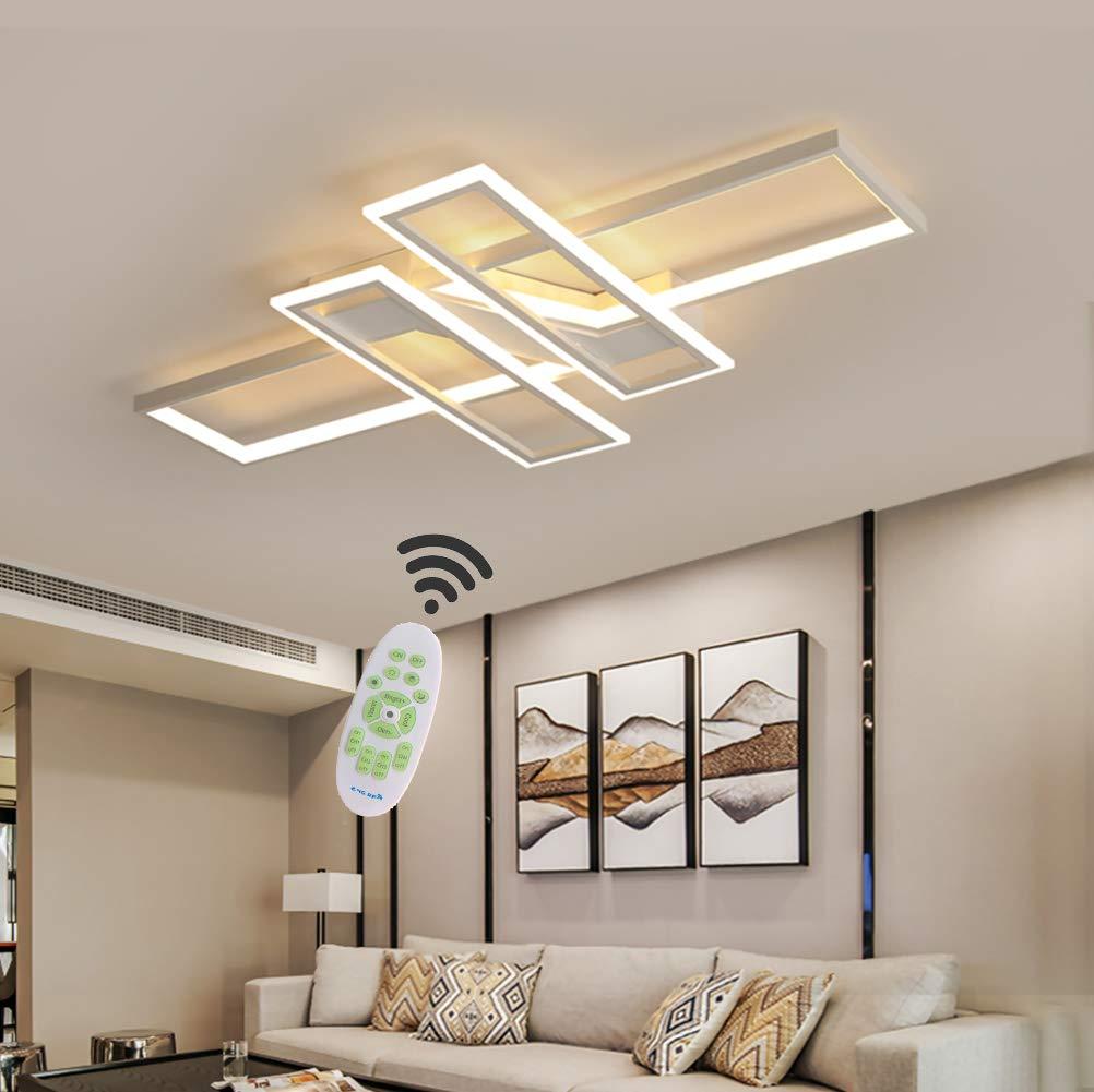LED Deckenleuchte Wohnzimmer lampen Dimmbar Deckenlampe