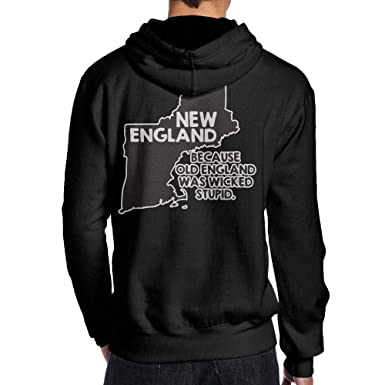 BB&YYY New England, Because Old England was Wicked Stupid Men\'s ...