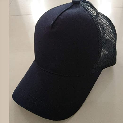 woyaochudan Sombrero de Mujer Cola de Caballo, Gorra de béisbol ...