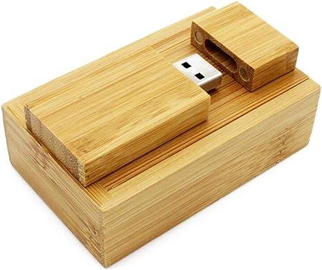 ToomLight USB Flash Drive de Madera + Caja Pendrive 4GB 8GB 16GB 32GB 89GB Diseño para Fotografía Regalo de Boda: Amazon.es: Electrónica