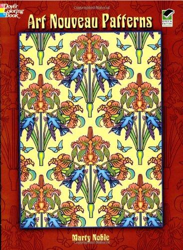 Download Art Nouveau Patterns (Dover Design Coloring Books) pdf