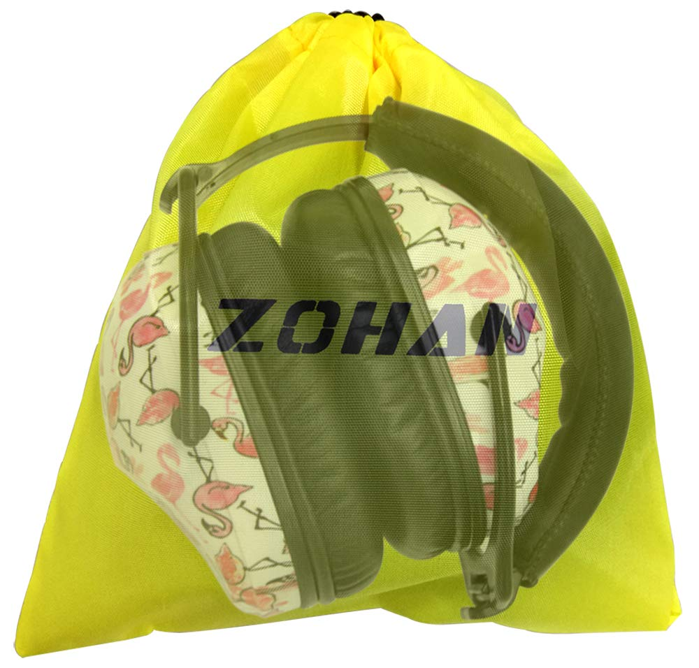 Casque Antibruits Insonorisant Fille Fils Enfant en Autisme Protection Auditive ZOHAN Casque Antibruit Enfant en Motif de la Licorne avec Un Sac de Transport