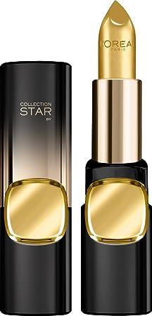 L'Oreal Paris Color Riche Gold Obesession, 24K Gold, 3.7g Lipsticks at amazon