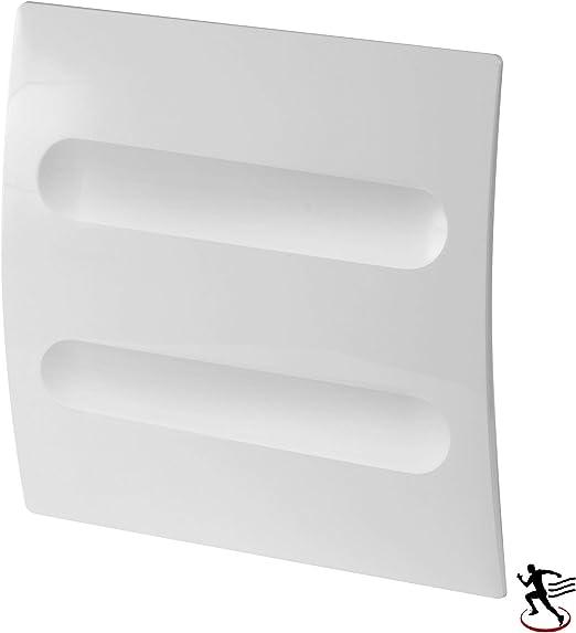 MKK - Ventilador para habitación, diámetro 100 mm, Color Blanco ...