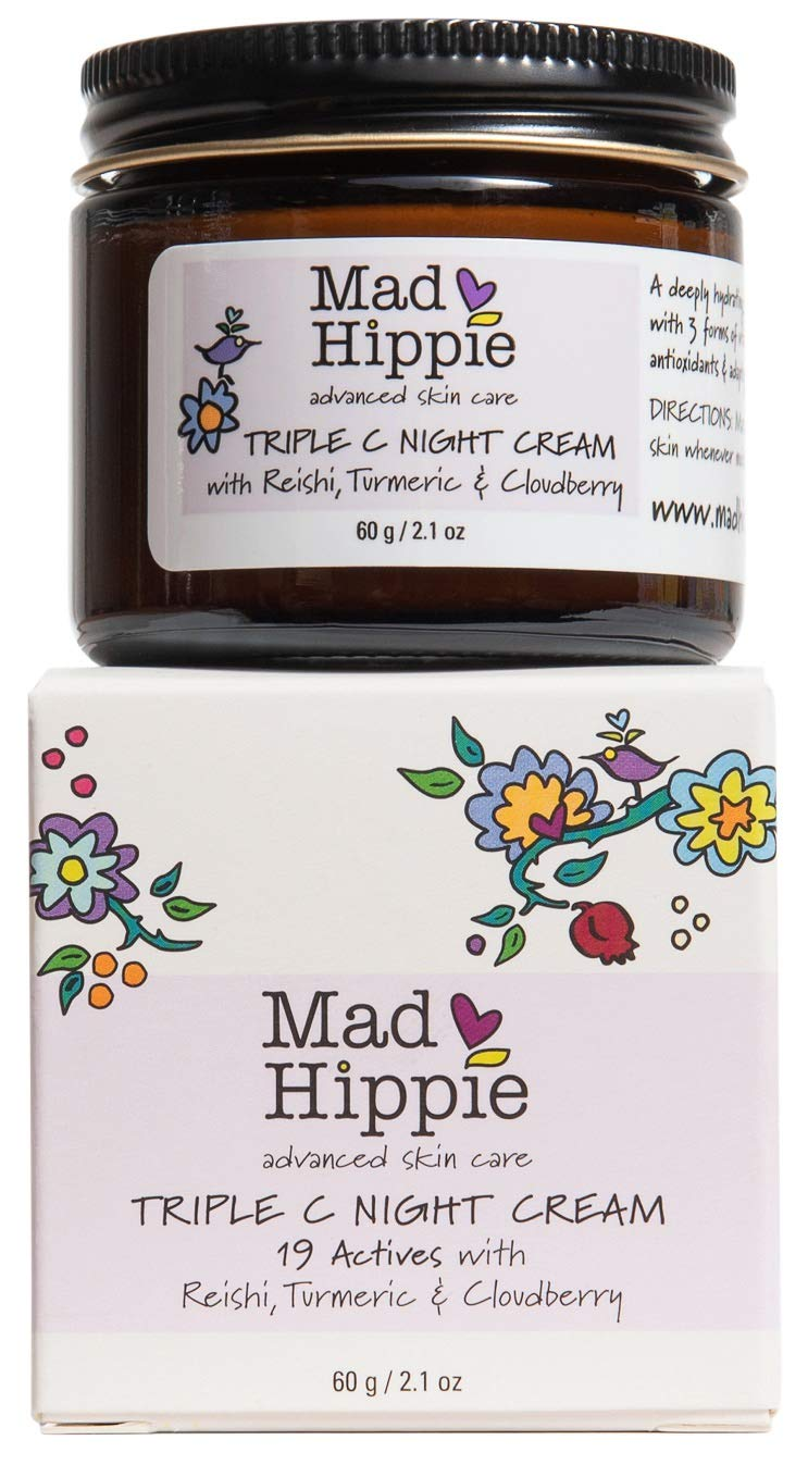 Mad Hippie, Night Cream Triple Cup, 2.1 Ounce