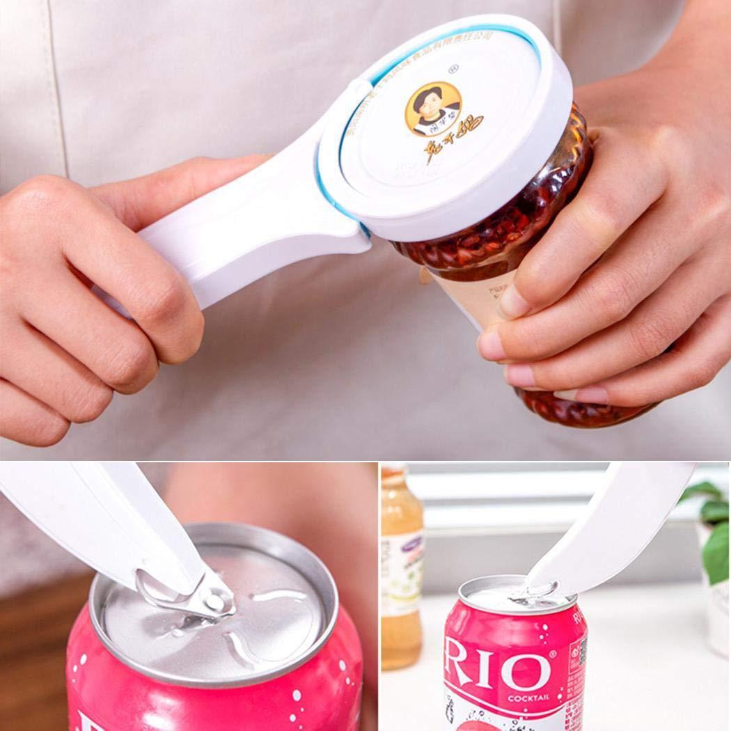 Xixini 3 in 1 Multifunction Beverage Beer Bottle Can Jar Opener Kitchen Restaurant