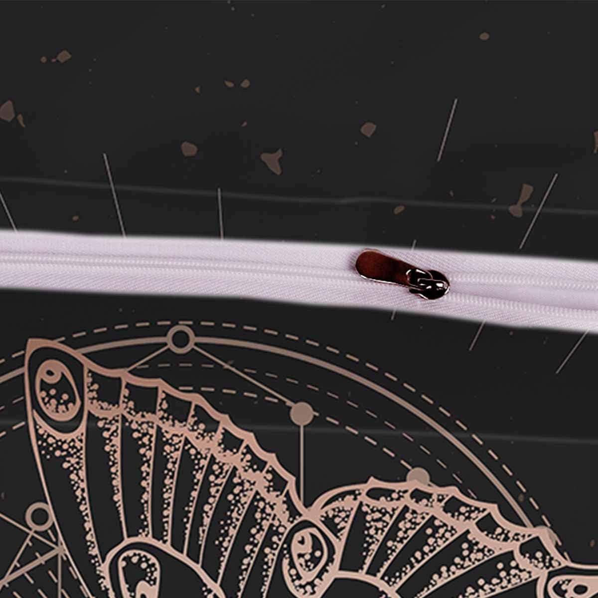 Loussiesd 3D Wild Animals Bedding Set King Size for Kids Boys Girls Teens Elk in The Forest D/écor Comforter Cover Set Soft Polyester Duvet Cover Set 3pcs with Zipper 1 Duvet Cover + 2 Pillowcases