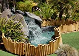 Backyard X-Scapes Bamboo Borders .875in D x 8in H x 23in L