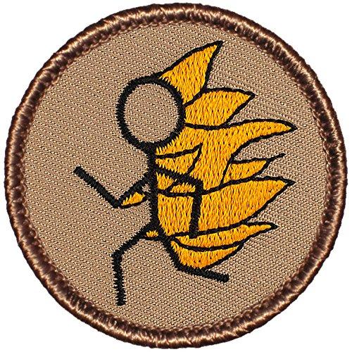 Flaming Stickman Patrol Patch - 2