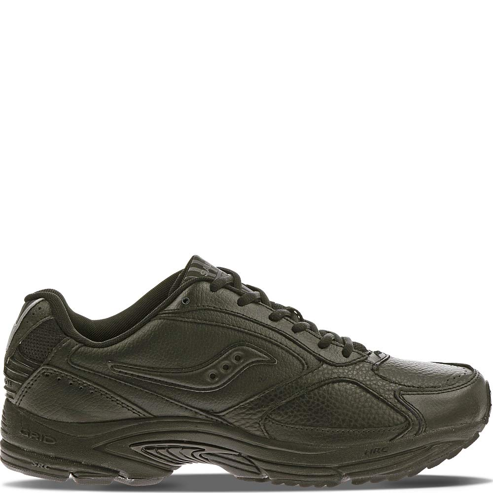 Saucony Men's Grid Omni Walking Shoe,Black,9 W by Saucony