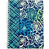 Vera Bradley Notebook with Pockets 3 Subjects Katalina Blues