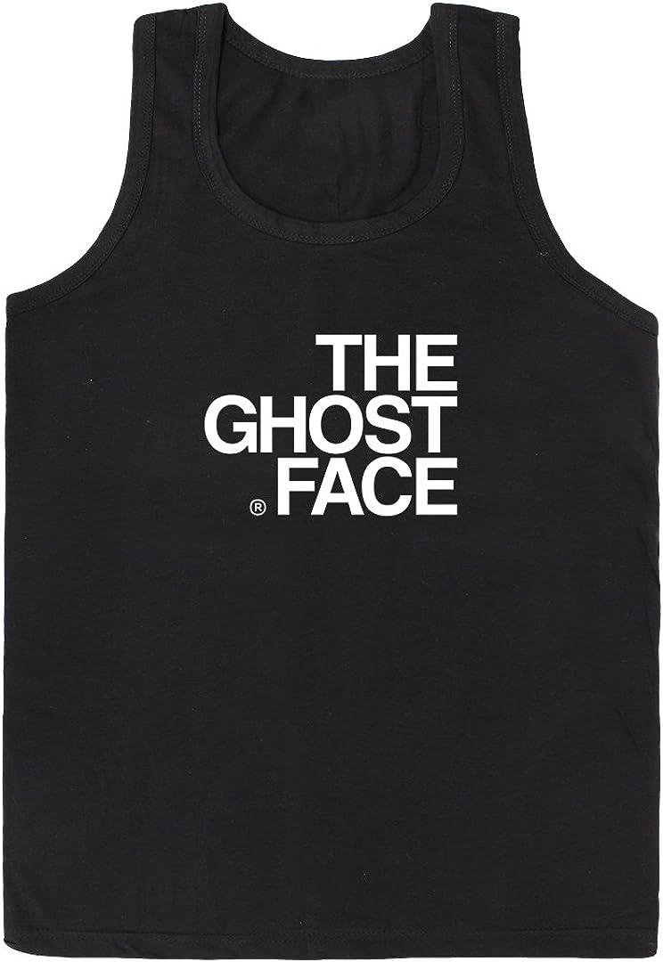 S-XL Mens The Ghostface Wu-Tang Clan Hip Hop Ghostface Killah Cotton Vest Tank Top