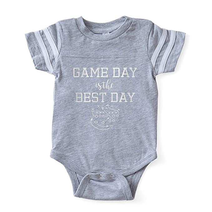 d3b2582012fc Amazon.com  CafePress Game Day is The Best Day Football Baby  Clothing