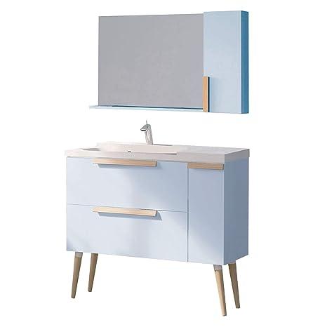Amazon.com: randalco Nordic moderno cuarto de baño set ...