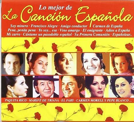 Lo Mejor De La Cancion Española: Various Artists: Amazon.es: Música