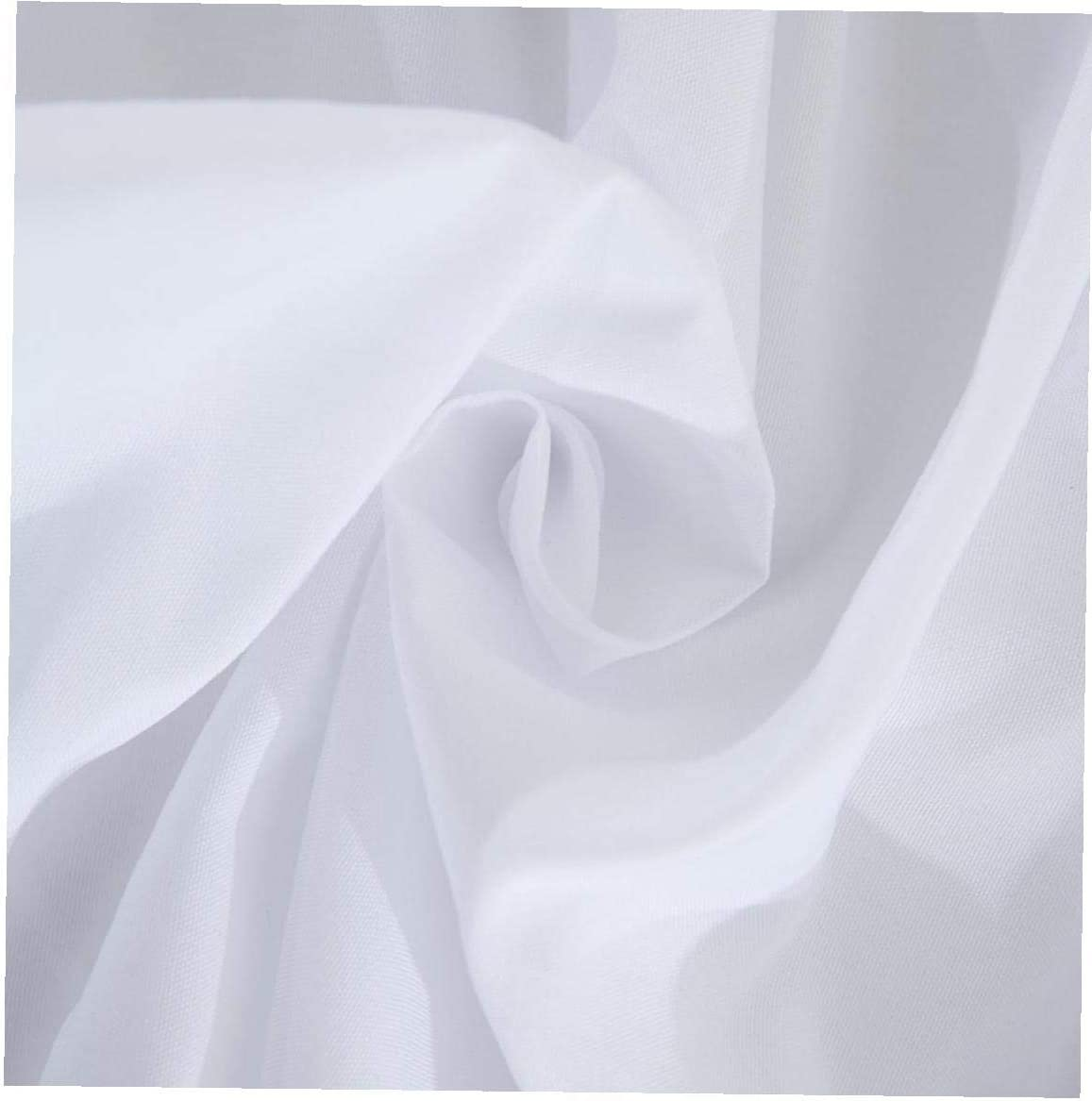 Creativo Wrap Around letto Letto Gonna poliestere elastico anti polvere Ruffle tessuto Sides morbidezza serica Gonna rughe bianco US-Twin Type