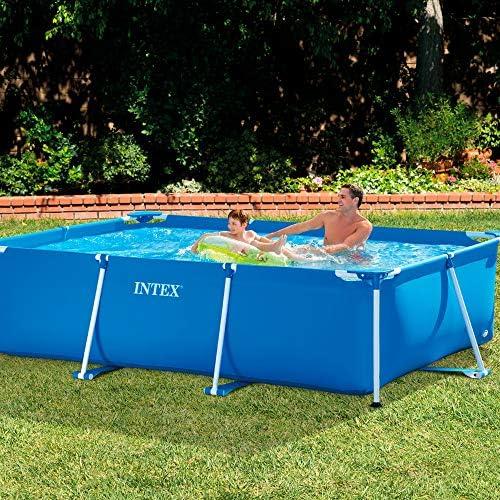 Intex Pack Piscina Small Frame 300x200x75 cm 3834 litros + Depuradora Cartucho 2006 litros/Hora