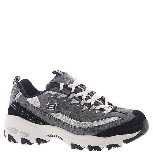 SKECHERS 13155WSL DLites Glimmer Eve Damen Sneaker weiß
