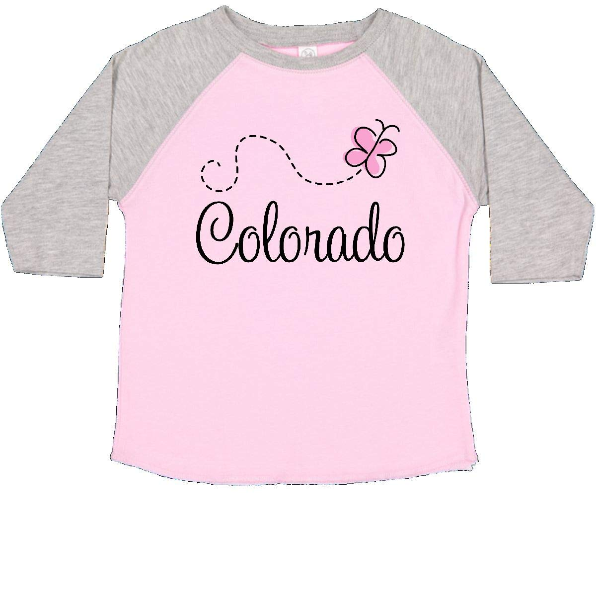 inktastic Butterfly Colorado Toddler T-Shirt