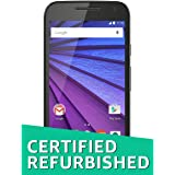 (Certified REFURBISHED) Motorola Moto G 3rd Gen XT 1550 (Black, 16GB)
