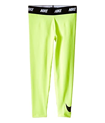 82e8c487e Nike Kids Sport Essentials Printed Leggings Little Kids Volt Girls Casual  Pants: Amazon.co.uk: Clothing