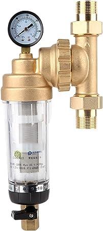 Purificador frontal de agua, Filtro de agua frontal giratorio ...