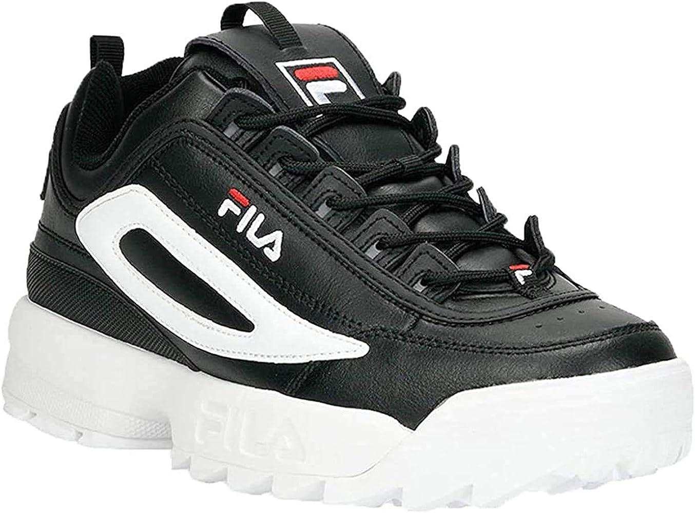 Fila Mens Disruptor II XL Leather Black