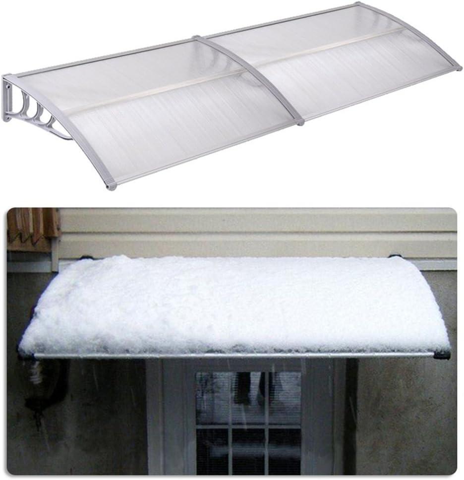 SAILUN 120 x 90 cm Auvent dentr/ée auvent de porte auvent de la verri/ère auvent exterieur auvent marquise Blanc
