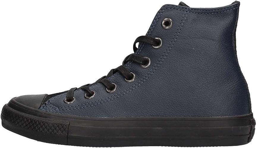 Converse Men, All Star hi LeatherSuede, Blue (Dark Navy