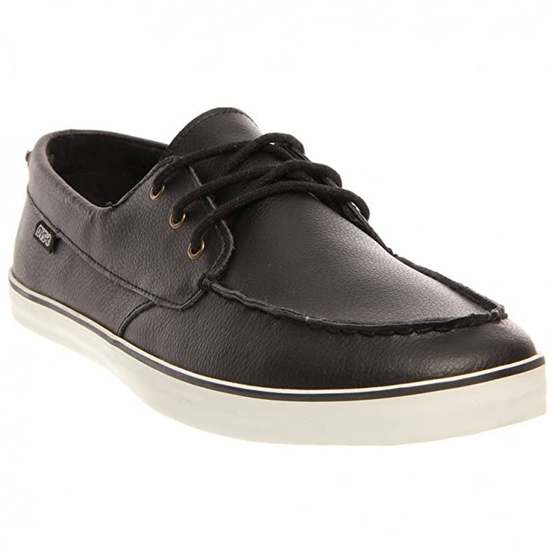 DVS Shoes Seanile DVF0000147 - Zapatillas fashion de cuero nobuck para hombre, color negro, talla 42