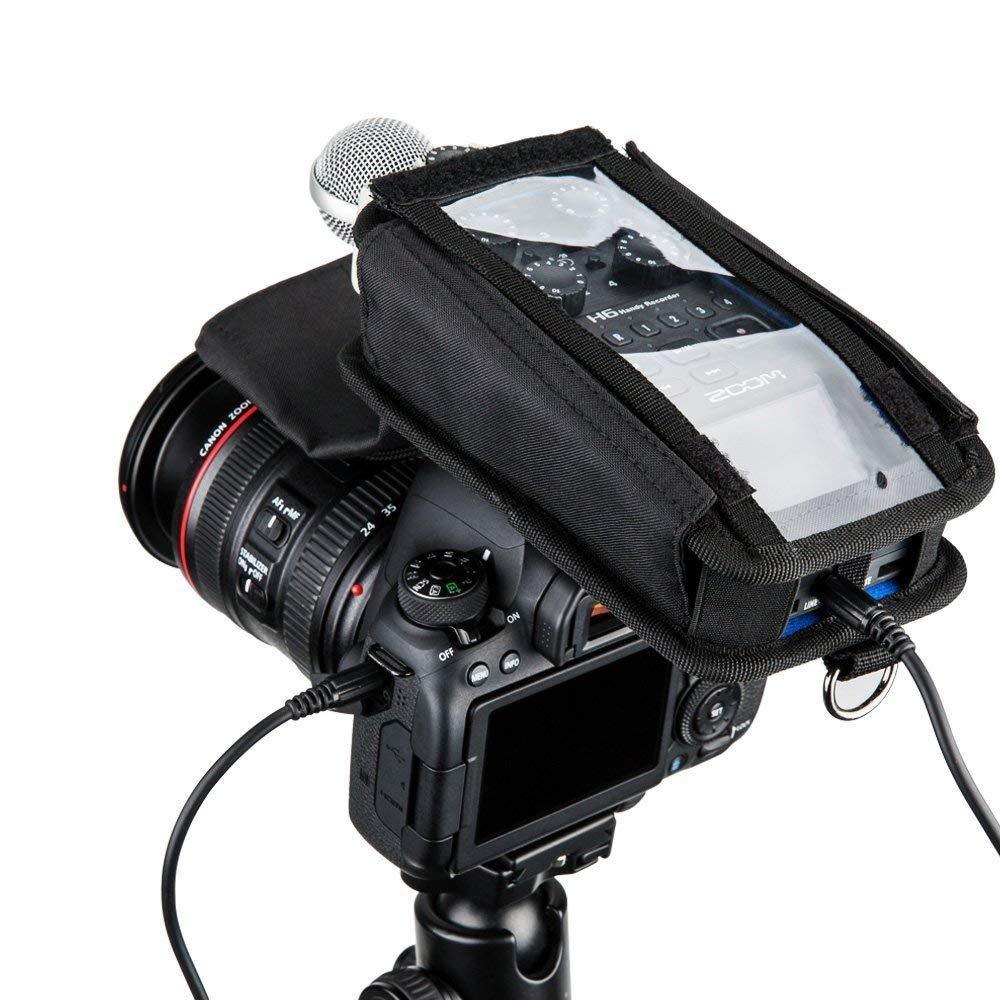 Color Negro Funda Protectora para grabadora Zoom H6 JJC HRP-H6