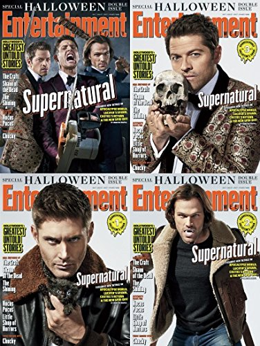 Entertainment Weekly Magazine (October 20, 2017) All 4 Covers - Supernatural