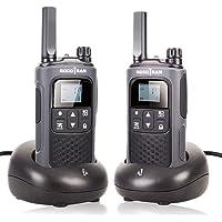 SOCOTRAN Walkie Talkies,Rechargeable Walkie Talkies for Adults Teens Long Range 5 Miles 2 Way Radios with Rechargeable…