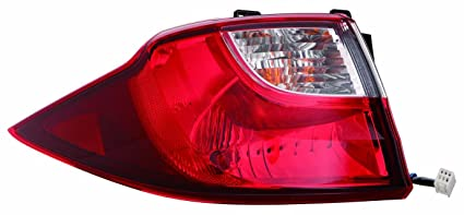 MAZDA 5 12 OUTER REAR TAIL LIGHT LAMP With BULB LH CG36   51   160