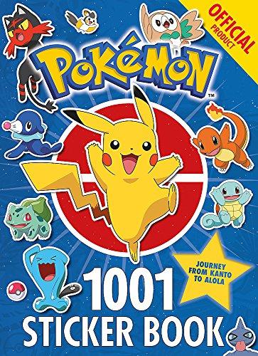 The Official Pokémon 1001 Sticker Book]()