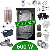Supacrop Kit de Cultivo Interior 600W SHP Cooltube