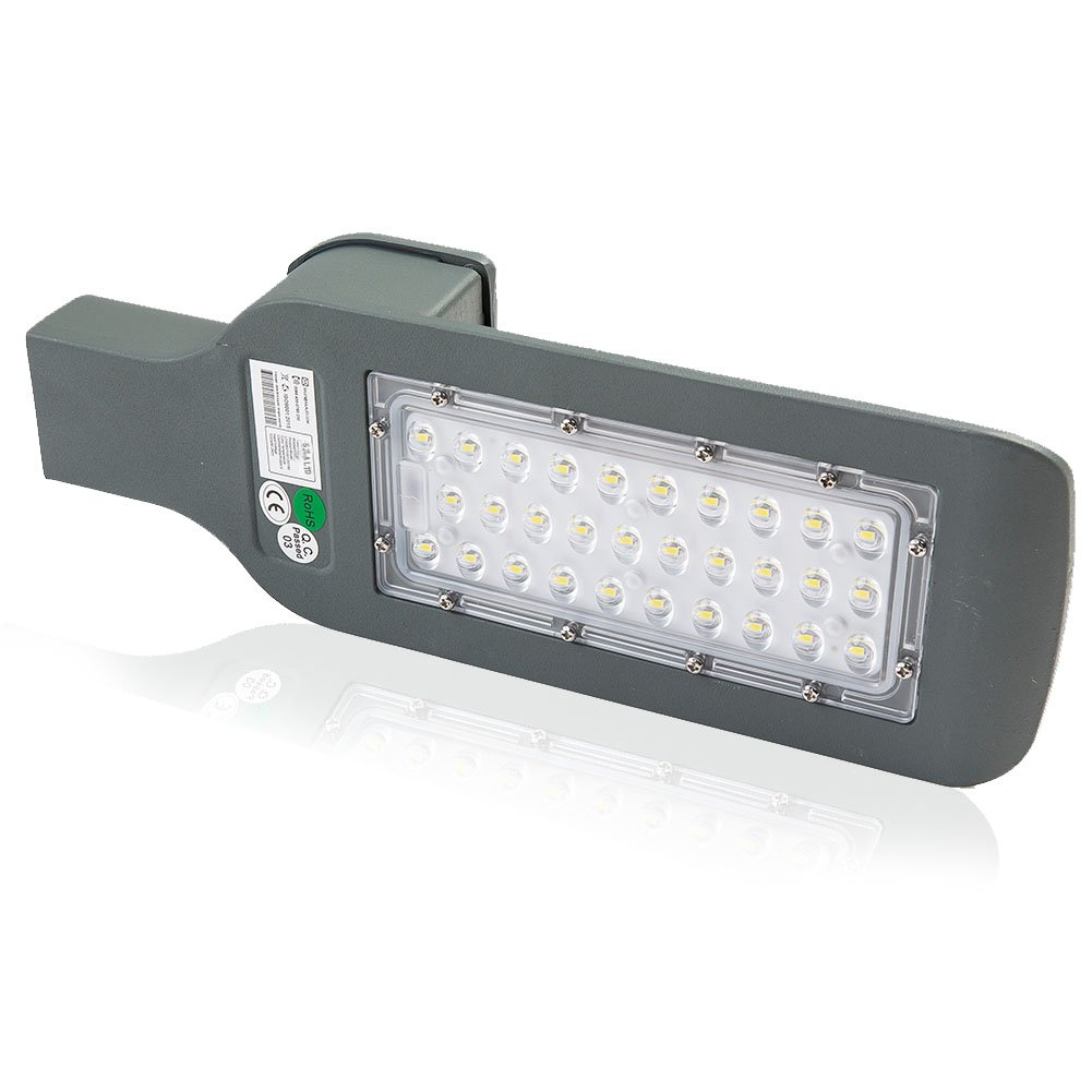 SJLALTD Patent Warranty 5 Years Waterproof IP67 Outdoor Industrial Garden Square Highway Plaza Road Area Lamp Cold White AC 90-260V 30W 150W 100W Led Street Light (30)