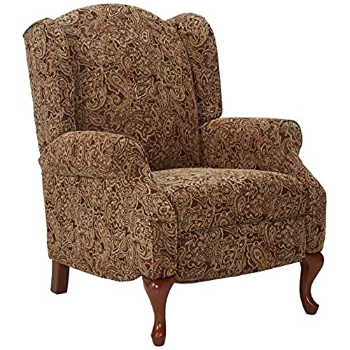 Merveilleux Ashley Furniture Signature Design   Nadior Recliner Chair   Manual Reclining    Classic Style   Paisley Brown Pattern