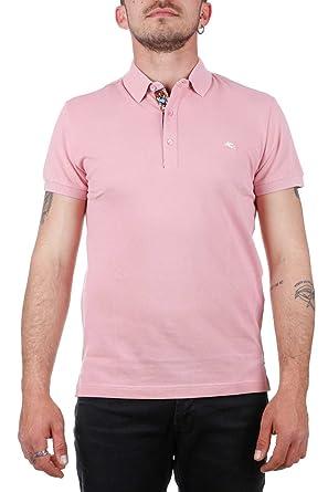 e7399fb7 Man's T-Shirt Polo ETRO 1Y800 9154 0656 Pink 1/I SPRING SUMMER 2018 ...